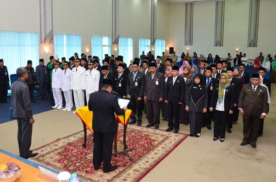 Pelantikan 52 Pejabat Administrator dan Pengawas