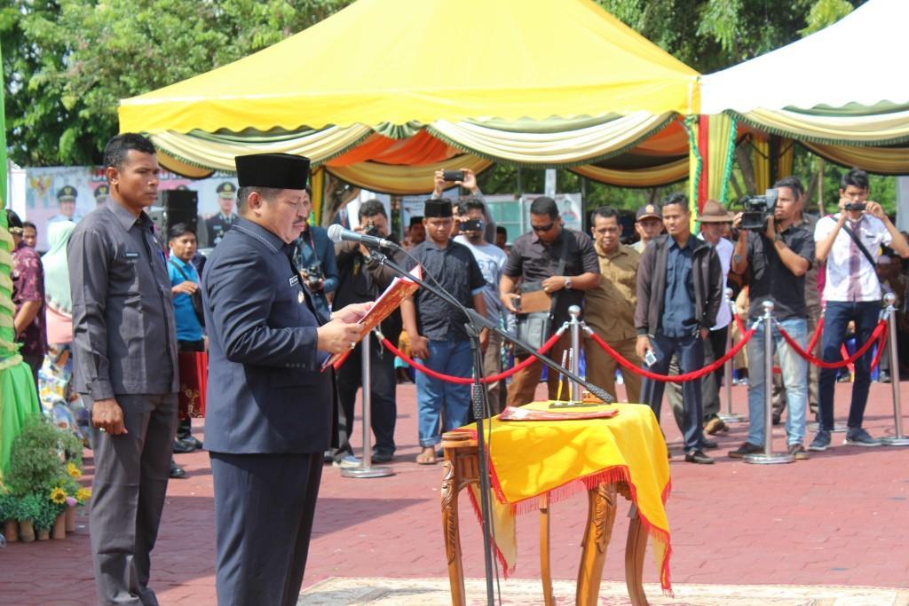 Pelantikan 39 Kepala Desa Kecamatan Bengkalis dan Kecamatan Bantan